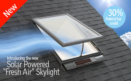 VELUX Fresh Air Skylight